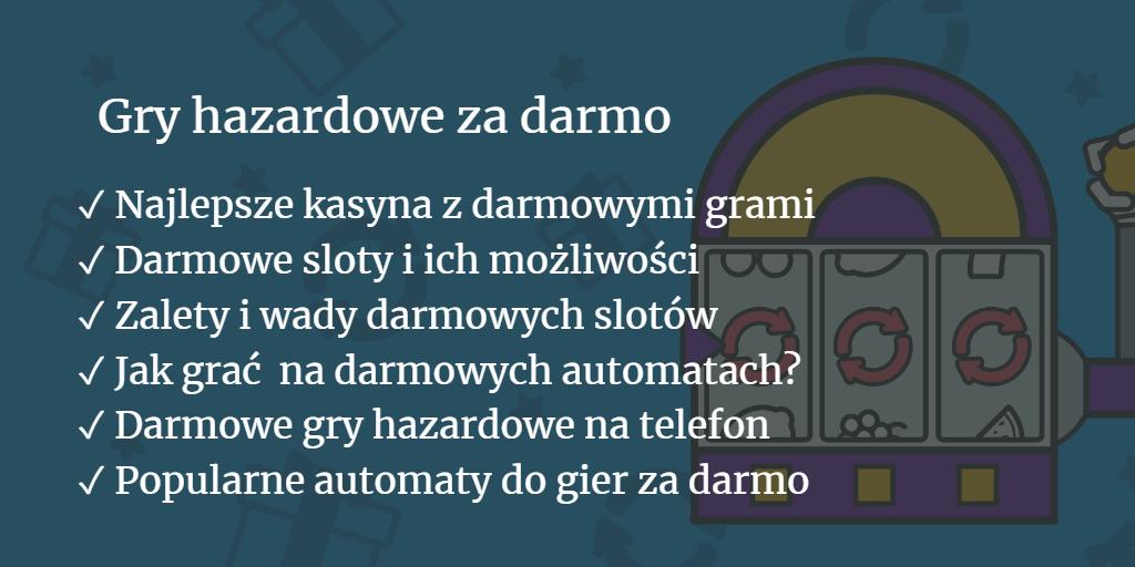 Gry Hzardowe Za Darmo