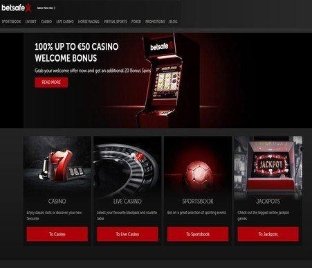 recenzja kasyna internetowego betsafe