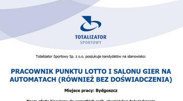 totalizator otworzy pierwszy salon gier w bydgoszczy